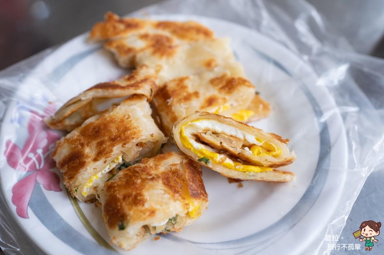 金門金許園早餐蔥油餅加蛋