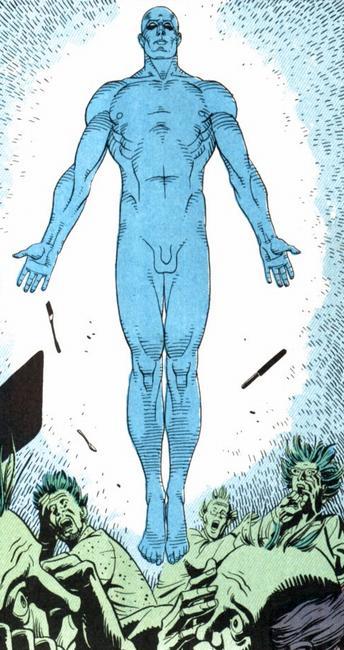 Dr. Manhattan Comic