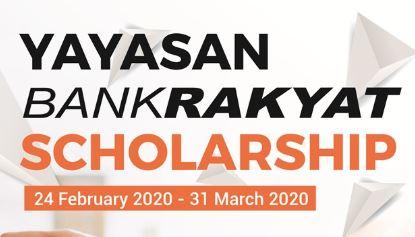Permohonan Biasiswa 2020 Yayasan Bank Rakyat