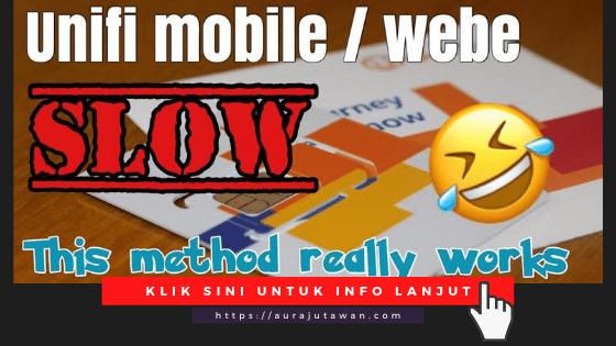 Cara-lajukan-internet-unifi-mobile