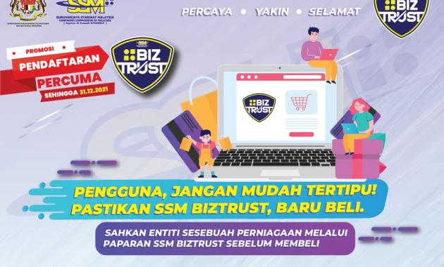 Daftar SSM eBIZ Percuma