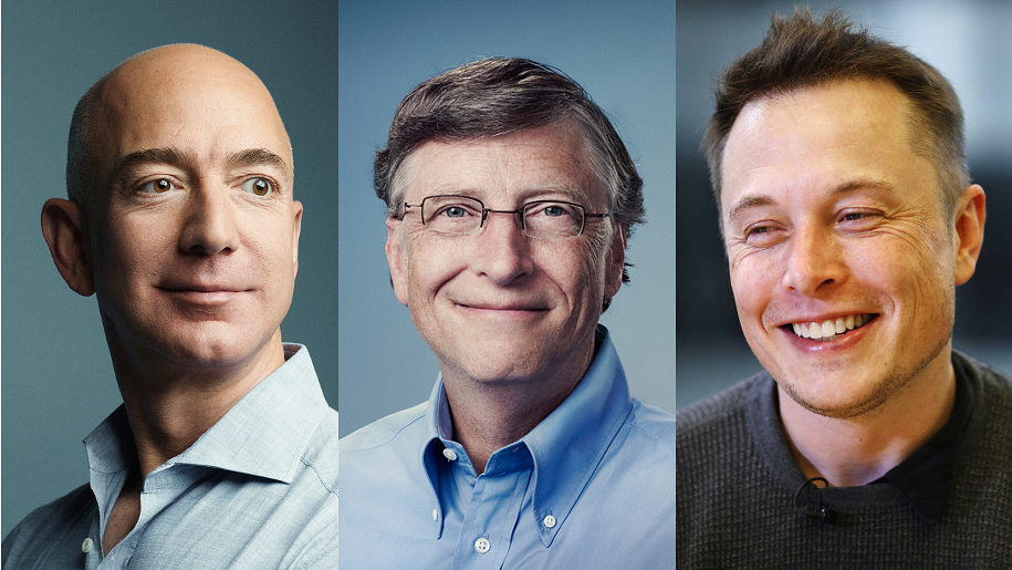 Quindici libri imperdibili secondo Jeff Bezos, Bill Gates e Elon Musk