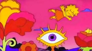 Comfortably Numb dei Pink Floyd immaginata coi Simpson