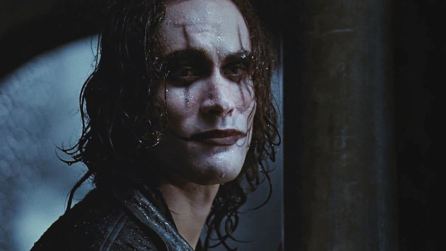Brandon Lee: the scene from The Crow where he died