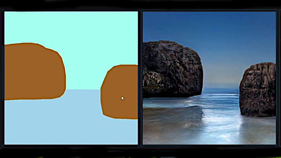 La tecnologia NVIDIA che trasforma bozze in immagini realistiche