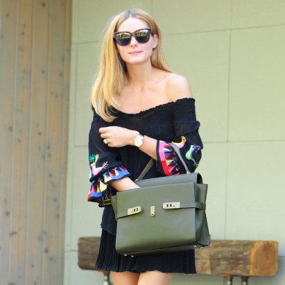 Olivia-Palermo-Off--Shoulder-Dress-Street-Style