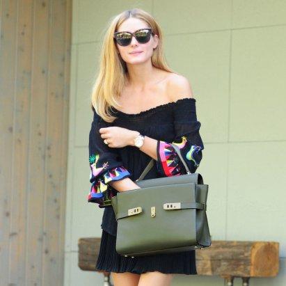 Olivia-Palermo-Off--Shoulder-Dress-Street-Style