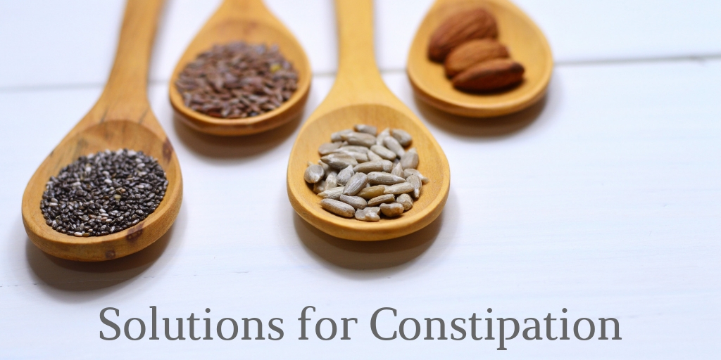 image of spoons for Solutions for Constipation