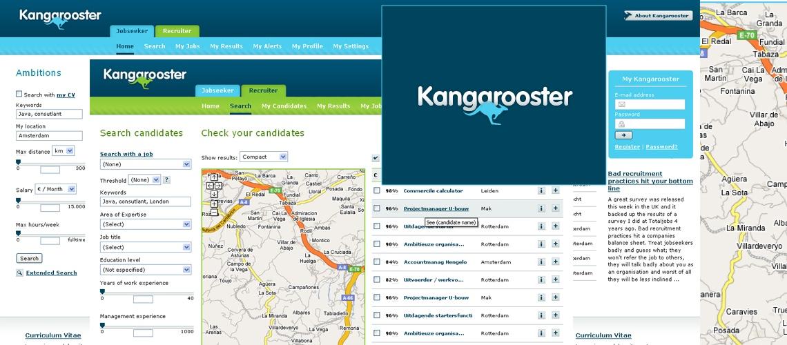 Kangarooster, empleo en Holanda