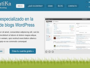 Zentika, Intranet de hosting WordPress
