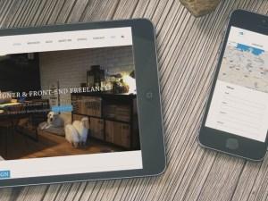 aurea webdesign, web portfolio de @javiaurea
