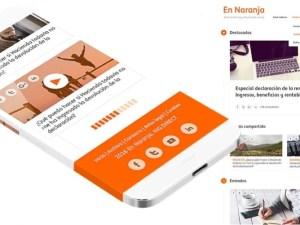 En Naranja, la publicación de ING DIRECT