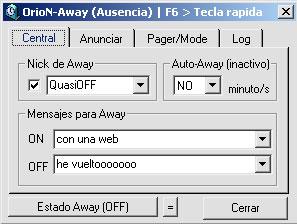 Utilidad de Away