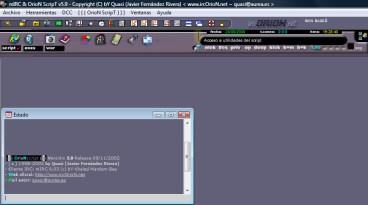 Interfaz de IRCOroN