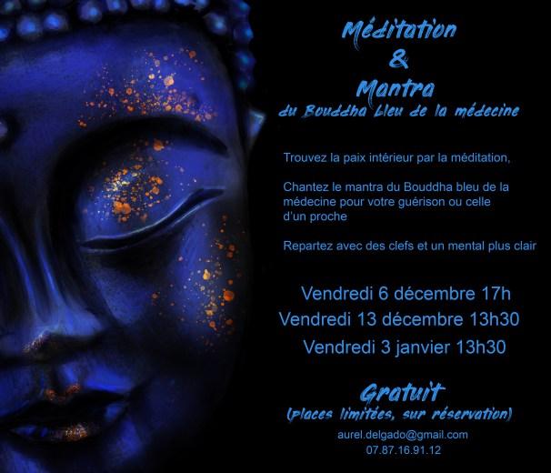 Mantra Bouddha bleu de la médecine