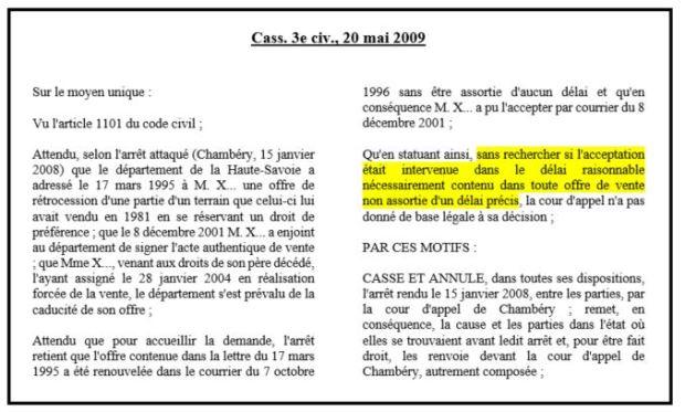 Le Regime Juridique De L Offre Notion Caracteres Revocation