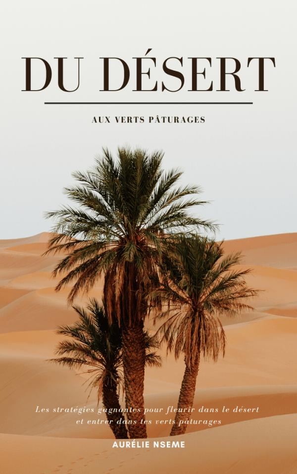 ebook du désert aux verts pâturages