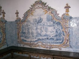 The chapter room was full of azulejos depicting the life of St. Joseph (from Genesis)