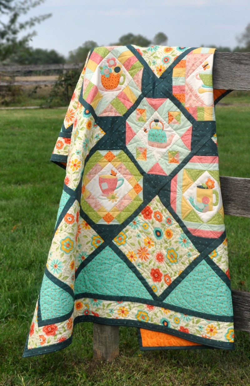 Cozy Afternoon Quilt- Jacquelynne Steves