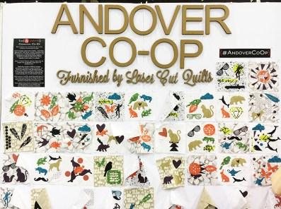 Andover Co-op wall