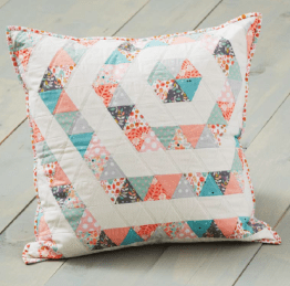 Equilateral Triangles Pillow