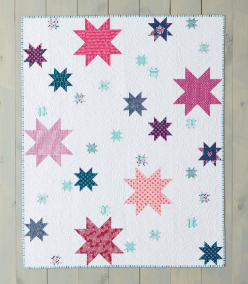 Star Filled Skies from Weekend Quilting by Jemima Flendt