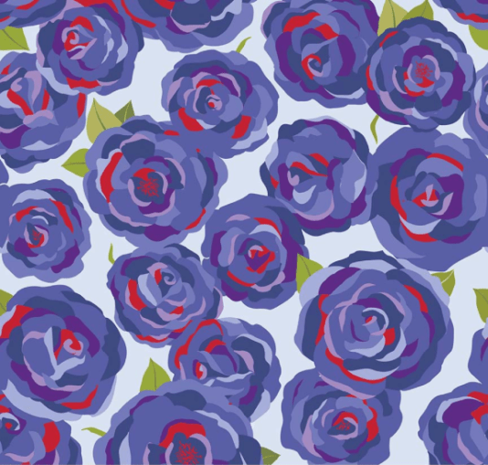 Roses Main, Blue