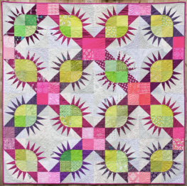 Conkers Quilt by Jo Avery for The Thread House - click here