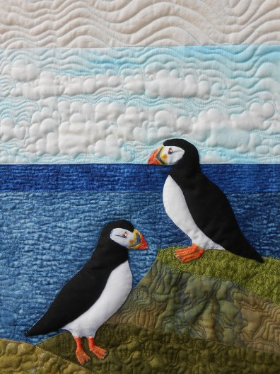 Puffy Puffins Detail (Sheena Norquay)