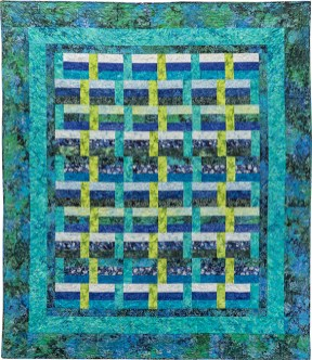 Zen Basket by Maryellen McAuliffe of Mary Mack Made Mine (Zen Showcase Quilt & Pattern)