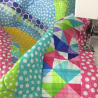 Quilt with Confetti - @meandmysisterdesigns
