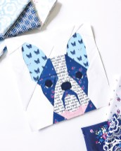 French Bulldog FPP Block was designed and created by Kerry of Kid Giddy.