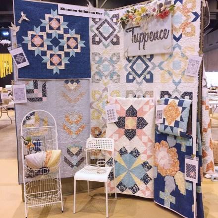 Tuppence fabric for Moda Fabrics