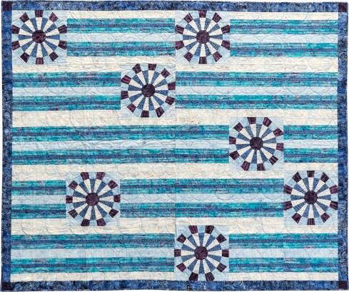 Snowflakes by Jackie Kunkel, Canton Village Quilt Works