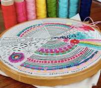 Aurifil Designer Amy Friend of @duringquiettime