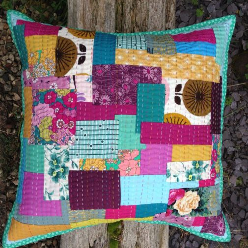 Siddi inspired cushion by Jo Avery - myBearPaw