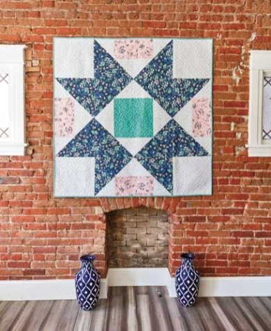 Home Treasure Quilt - image by F+W Media