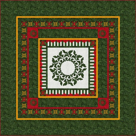 Evergreen Quilt, Margaret Willingham