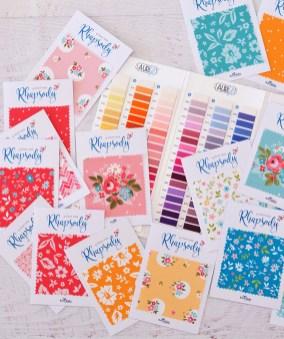 Aurifil Thread Box Colour Selections