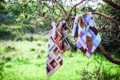 Quilts by Nicholas Ball, Image via Lucky Spool