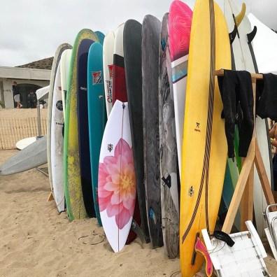 Hoffman x Martin Shapes Surfboard - via @hoffmanfabrics