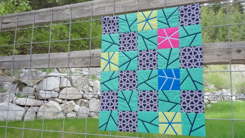Purity, a baby quilt by Patricia Belyea