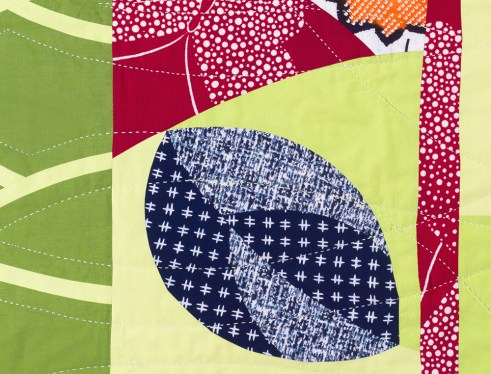 Detail of Leaf and Berry by Patricia Belyea