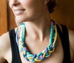 Tube Necklace by Bonnie Bobman