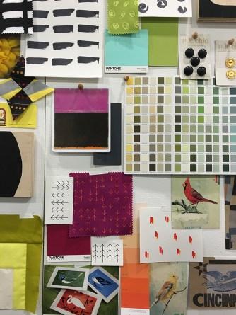 Design Wall at Spring Market 2016