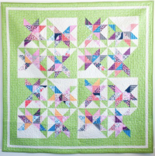 Skylight Quilt by Sandra Clemons