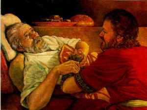 Esaus blessing