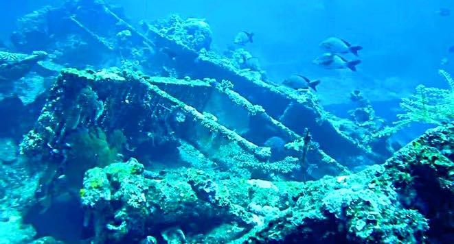 USAT Liberty Shipwreck, Tulamben, Bali, Indonesia