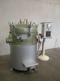 Autoclave GAZ ACIER