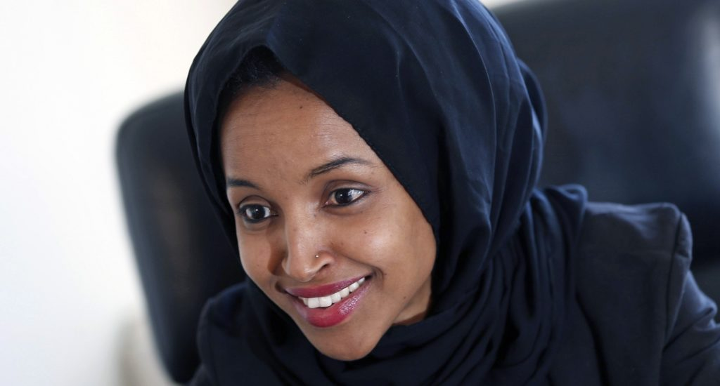 Image result for Ilhan Omar crazy